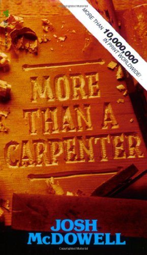 9780842345521: More Than a Carpenter