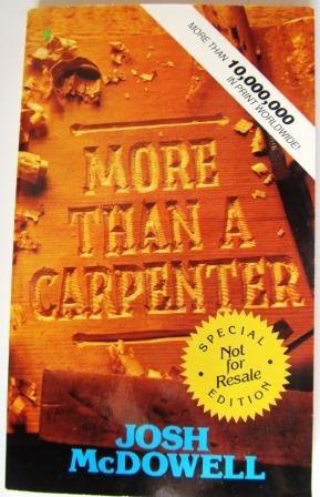 9780842345569: More Than a Carpenter