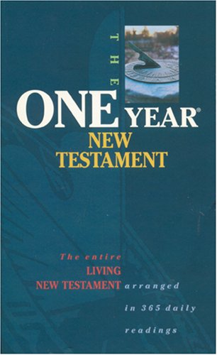 9780842346061: One Year New Testament (The Living Bible)