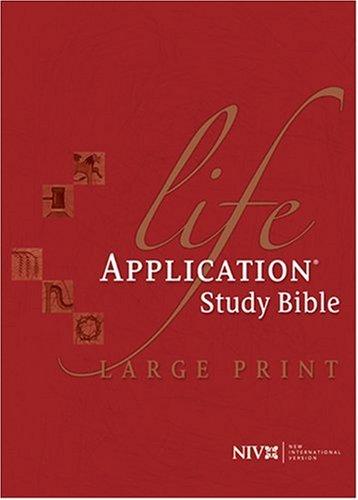 9780842348959: Life Application Study Bible, NIV