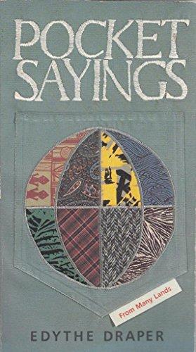 Pocket Sayings (0842349413) by Edythe Draper