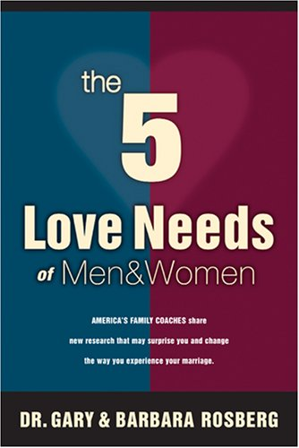 9780842349949: The 5 Love Needs of Men and Women