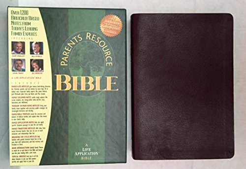 9780842350457: Parents Resource Bible: The Living Bible