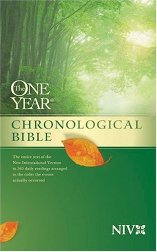 9780842350907: The One Year Chronological Bible [NIV]