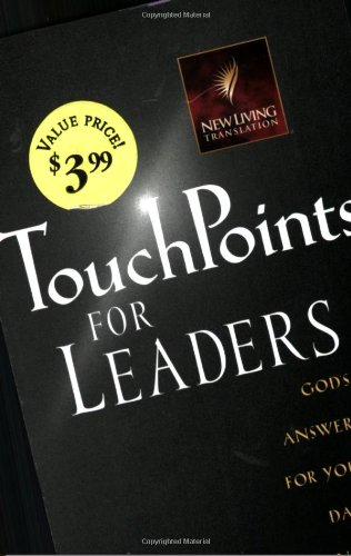 TouchPoints for Leaders: God's Wisdom for Leading: Rumford, Douglas J./