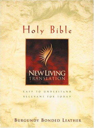 9780842351836: Holy Bible: New Living Translation, Burgundy