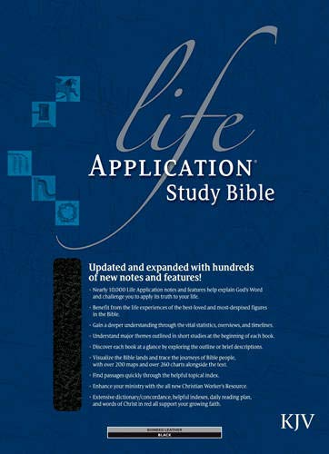 9780842352215: Life Application Study Bible KJV