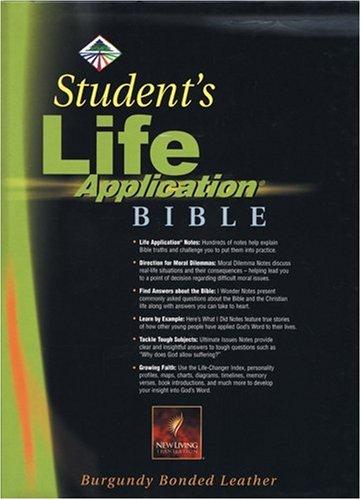 9780842352284: Student's Life Application Bible: NLT1