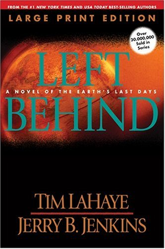 9780842354202: Left Behind (Large Print): A Novel of the Earth's Last Days