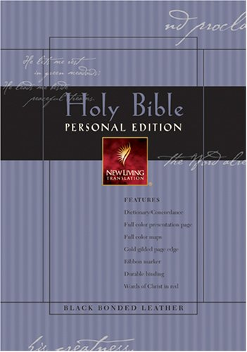9780842354486: Holy Bible: New Living Translation, Personal Edition, Black