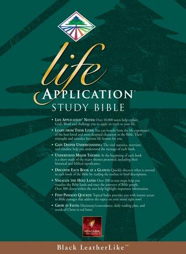 9780842354646: Life Application Study Bible: NLT1