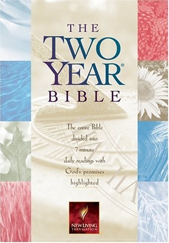 9780842354820: The Two Year Bible: NLT1