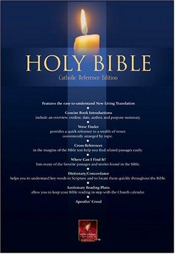 9780842354905: Holy Bible: Catholic Reference Edition (Blue Imitation Leather)