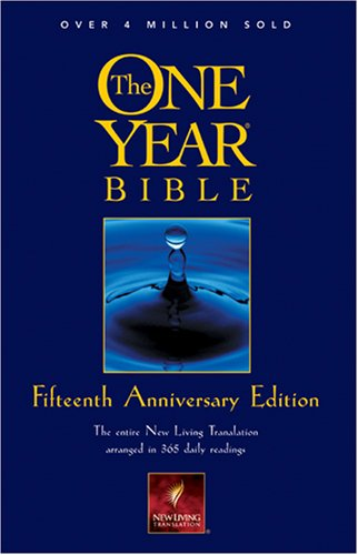9780842355483: The One Year Bible Fifteenth Anniversary Edition NLT