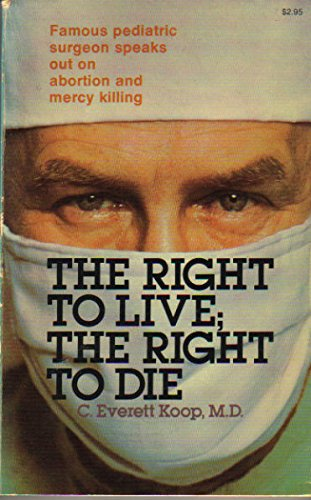 9780842355933: The Right to Live; The Right to Die