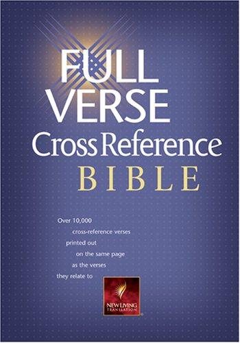 9780842356169: Full Verse Cross Reference Bible: NLT1 (Nlt Bibles)