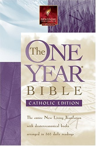 9780842362061: The One Year Bible - Catholic: NLT