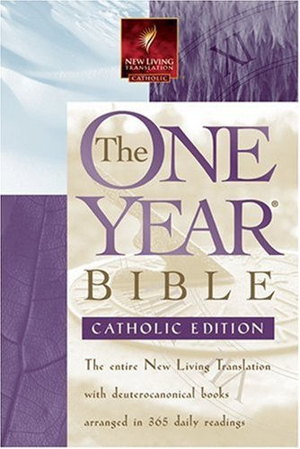 9780842362078: The One Year Bible - Catholic: NLT