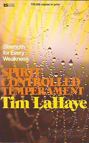 9780842364010: Spirit Controlled Temperament