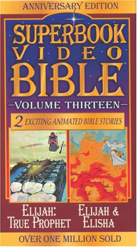 Elijah / Elijah & Elisha (Superbook Video Bible) (0842368256) by Tyndale