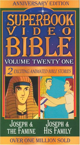 9780842368353: Joseph and the Famine/Joseph and Family (Superbook Video Bible #21) [VHS]