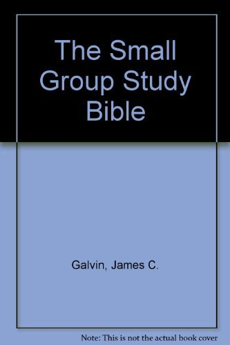 9780842368506: The Small Group Study Bible