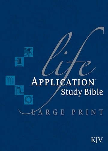 9780842368834: Life Application Study Bible KJV, Large Print