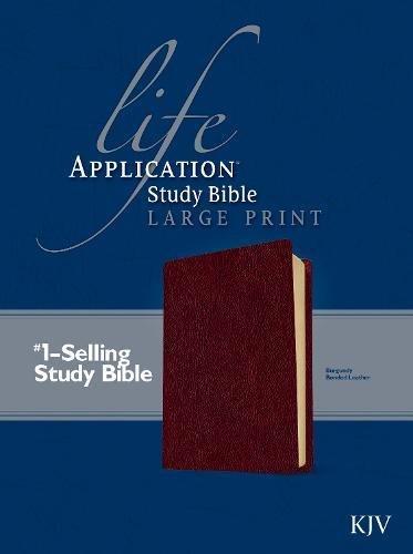 9780842368841: Life Application Study Bible KJV, Large Print