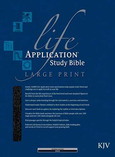 9780842368872: Life Application Study Bible KJV, Large Print