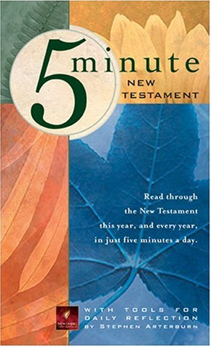 5-Minute New Testament NLT: Arterburn, Stephen