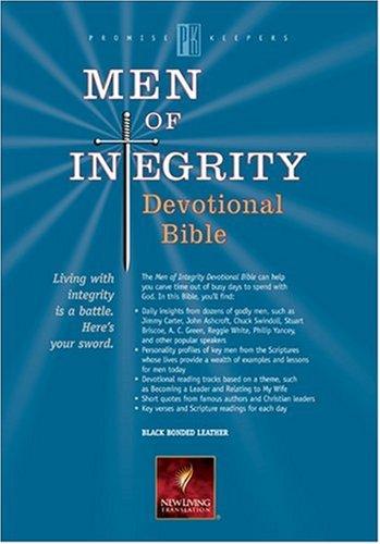 9780842374101: Men of Integrity Devotional Bible: NLT1