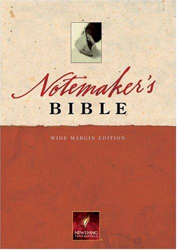 9780842375726: Notemaker's Bible: New Living Translation, Wide Margin