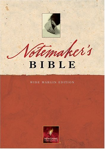 9780842375726: Notemaker's Bible-Nlt-Wide Margin