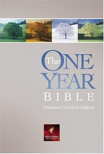 9780842375900: The One Year Bible Premium Slimline: NLT1