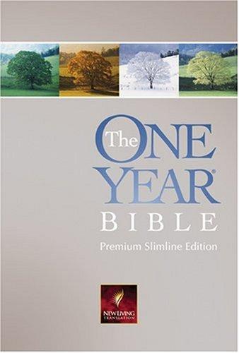 9780842375917: The One Year Bible Premium Slimline: NLT1