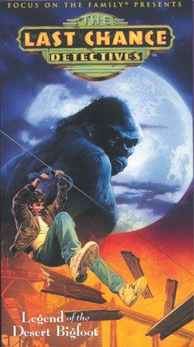 9780842376822: Legend of the Desert Bigfoot (Last Chance Detectives, Vol. 3) [VHS]