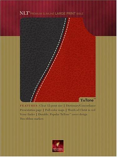 9780842377775: Premium Slimline Bible Large Print: NLT1, TuTone (Tutone Bibles)