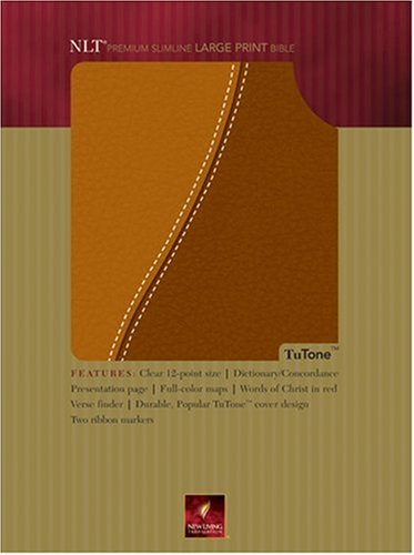9780842377799: Holy Bible: Premium Slimline, Tan-brown, Tutone (Tutone Bibles)
