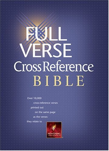 9780842382779: Full Verse Cross Reference Bible New Living Translation: Black Bonded Leather (Nlt Bibles)