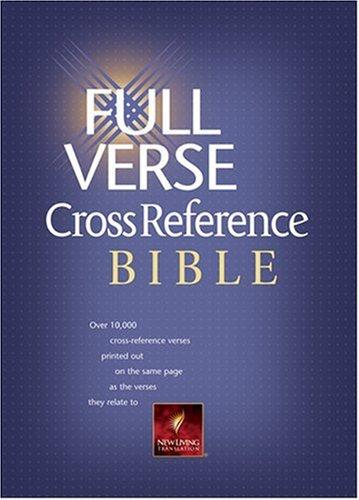 9780842382779: Full Verse Cross Reference Bible: NLT1 (Nlt Bibles)