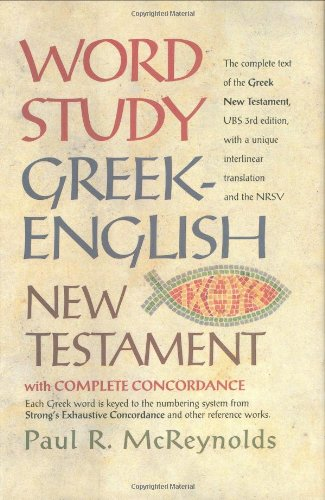 9780842382908: Word Study Greek-English New Testament: with complete concordance