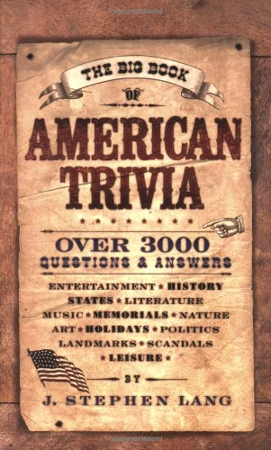 9780842383134: The Big Book of American Trivia