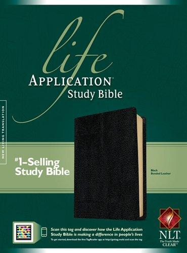 Life Application Study Bible-Nlt (Bonded Leather): Tyndale House Publishers