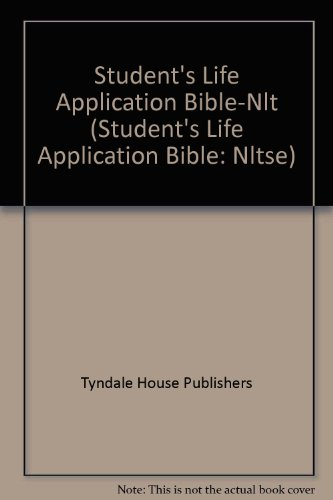 9780842385091: Student's Life Application Bible-Nlt (Student's Life Application Bible: Nltse)
