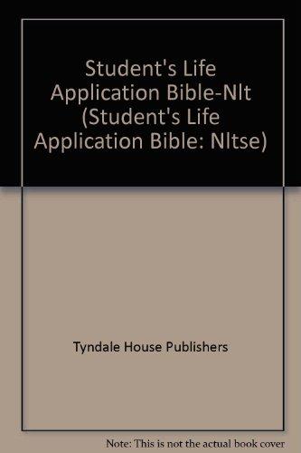 9780842385091: Student's Life Application Bible-Nlt (Student's Life Application Bible: Nltse)