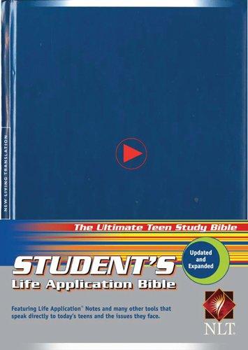9780842385107: Student's Life Application Bible: New Living Translation, hardcover