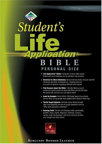 9780842385442: Student's Life Application Bible Personal Size: NLT1