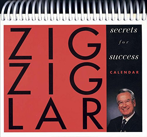 9780842388597: Zig Ziglar's Secrets to Success Calendar
