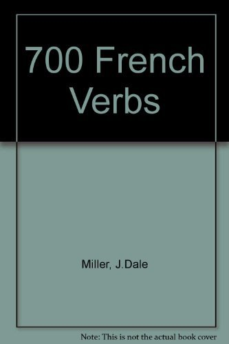 9780842500852: 700 French Verbs (French Edition)
