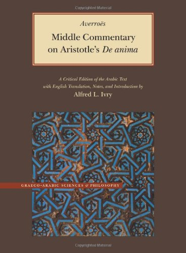 9780842524735: Middle Commentary on Aristotle's De Anima (Graeco-Arabic Sciences and Philosophy)